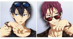 Free! Eternal Summer Haruka and Rin Characters Mook — White Rabbit ...