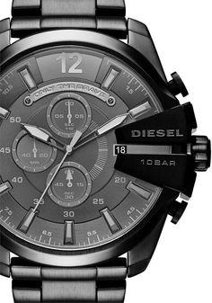 Diesel Mega Chief Chronograph Black