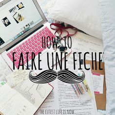 The Cutest Life Is Now: How To - Faire Des Fiches De Révision - Diy Organisation Back To School Highschool, Back To School Art, Back To School Bulletin Boards, Back To School Supplies, Back To School Organization, Diy Organisation, Binder Organization, Back To School Bullet Journal, Back To School Clipart