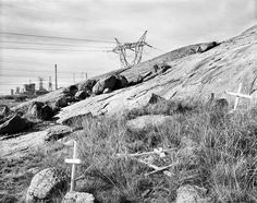 Never obvious, photographer David Goldblatt's landscapes are elegiac, silent – and monumental, writes Melvyn Minnaar. David Goldblatt, Centre Pompidou, High Voltage, Les Oeuvres, Photos, Cape Town, Gallery, Landscapes, Outdoor
