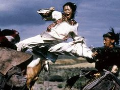 Crouching Tiger, Hidden Dragon - one of the most visually spectacular films I've ever watched - from the fight choreography to the cinematography to the costumes and characters themselves.