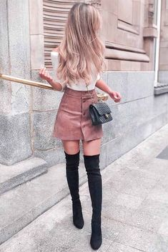 24 Super Cute Outfits for School for Girls to Wear This Fall 9334eed75a9