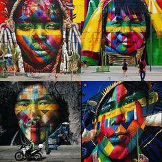 No Boulevard Olímpico o trabalho de Eduardo Kobra é medalha de ouro e sucesso no mundo via redes sociais. O talento brasileiro em evidência. Kobra esse é um trabalho de fera! MARAVILHOSO!!! @olhardemahel @eduardokobra #painel #mural #pintura #arte #OlhardeMahel #grafite #artista #paint #graffiti #art #artist #artederua #streetart #arteurbana #urbanart #intervençãourbana #fpolhares #instagram #pinterest #facebook #instaart #instapost http://ift.tt/2bbOAI3