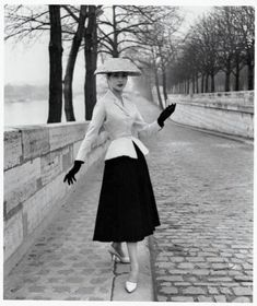 Dior's New Look, a classic photo
