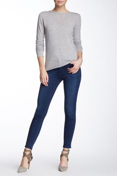 High Waist Skinny Jean  by 7 For All Mankind on @nordstrom_rack