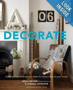 Decorate : Interesting coffee table book