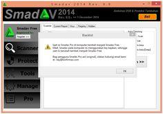 Coretan Terbaru: Cara Menghilangkan Blacklist SmadAV