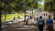 Hemisfair Civic Park concept