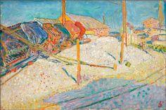 Jan Sluijters - Kipkarretjes (1907) 40 x 60,5, Museum Boijmans van Beuningen, Rotterdam.