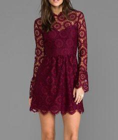 pisaro lace dress
