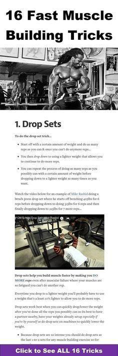 16 fast muscle building tricks https://www.musclesaurus.com/bodybuilding/