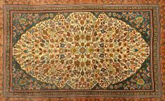 a small silk carpet—just 18 inches by 24 inches—that had a stunning 1,200 knots per square inch and sold for an equally stunning $52,000.