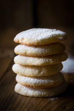 Easy and quick recipe for Gluten Free Lemon Cookies that you'll really love! Gluten Free
