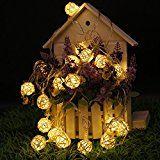 AC110/220V 4M 20LED LED Rattan Ball String LightsParty LightsFairy LightsWedding LightsChristmas LightsHome... christmas deals week
