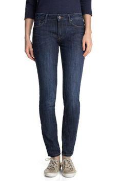 ESPRIT Damen Skinny Jeans in schöner Waschung