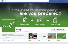 Launched in February 2003, Ready is a national public service advertising (PSA) campaign designed to educate and empower Americans to prepare for and respond to emergencies including natural and man-made disasters. The goal of the campaign is to get the public involved and ultimately to increase the level of basic preparedness across the nation - Official Website