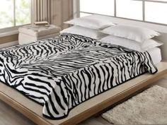 Cobertor Casal Corttex Zebra - 1 Peça