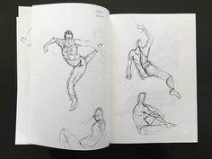 Gesture Drawing Sketchbook - Quick Poses