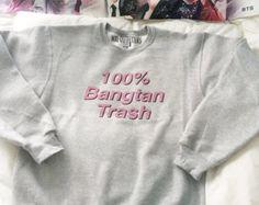 100% Bangtan Trash crewneck sweatshirt BTS