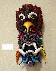 2014 Costa Rican Rainforest Mask Exhibition in Selby Gardens, Sarasota, Florida.
