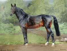 Horovod by ~Loginova on deviantART #horse #art #equine #painting