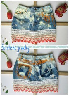 Hippie Chic mini skirt for summer :)))