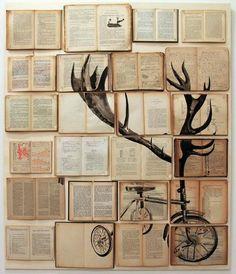 #Book #wall #art