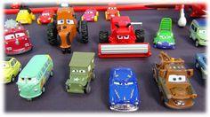 The Cars en français. Toute ma collection de voitures du dessin animé  l...