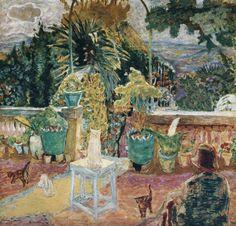 Pierre Bonnard, La Terrasse de Grasse, 1912, urgetocreate