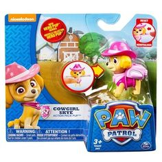 Paw Patrol Cowgirl Skye Action Pack Pup Nickelodeon Figure Toy for sale online Christmas Gifts For Girls, Birthday Gifts For Girls, Birthday Ideas, Toys For Girls, Kids Toys, Paw Patrol Rescue, Spongebob Square, Unicorn Rooms, Dragon Crafts