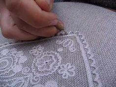 Ukážka techniky vyšívania krivou ihlou - Detva - Slovensko (Embroidery from… Needlepoint, Embroidery, Craft, Needlework, Cross Stitches, Embroidery Stitches, Cut Work