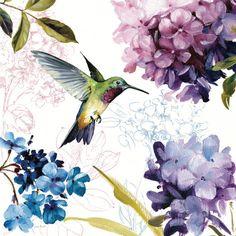 Spring Nectar Square II - Posters av Lisa Audit på AllPosters.se