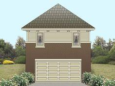 Garage Apartment Plan, 006G-0082