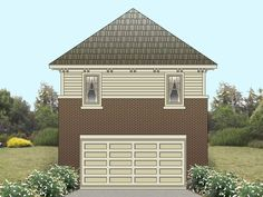 Plan 006G-0082 - Garage Plans and Garage Blue Prints from The Garage Plan Shop