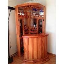 Cantinas modernas 5 proyectos que intentar pinterest for Bar madera esquinero