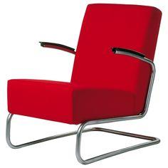 Gispen 405 fauteuil - rood