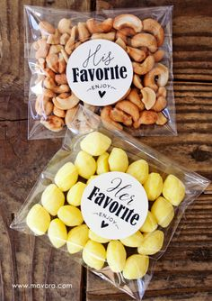 18 food and drink wedding favour ideas