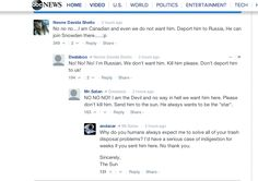 """People's responses to the """"Deport Justin Bieber from the US"""" news story on ABC. - Imgur"""