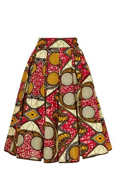 Burundi Market Skirt by Lena Hoschek for Preorder on Moda Operandi