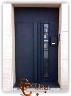 puerta de entrada moderna