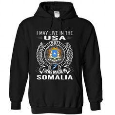 I May Live in the US But I Was Made in Somalia - #bestfriend gift #bridal gift. CHEAP PRICE: => https://www.sunfrog.com/States/I-May-Live-in-the-US-But-I-Was-Made-in-Somalia-bpynetsqvs-Black-Hoodie.html?60505