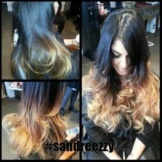 Ombre #sandreezzy #hairninja #salon2324