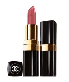 chanel mademoiselle rouge coco 05. universally flatteringly on virtually all skin types. its a creamy shimmer without the glitter. sold out at every counter? believable.