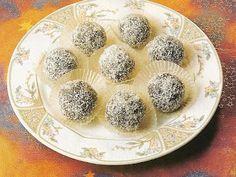 Cukrovi na Vanoce: Kokosové kuličky