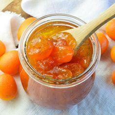 Kumquat vanilla jam