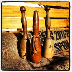 Antique Wooden Mallet Collection by OldHouseChic on Etsy, $45.00