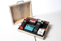 HANDMADE Wooden PedalBoards by ToeJamPedalBoards on Etsy