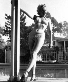 1950 : Marilyn  Bob BEERMAN  Westwood-Village.