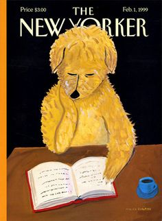 Neil Gaiman on How Stories Last - New Yorker Cover by Maira Kalman