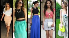 10 Things You Must Know Before Wearing A Crop Skirt